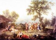 ZUCCARELLI  Francesco Bacchanal oil painting picture wholesale